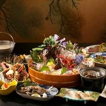 【夕食】贅沢膳-sasaya-