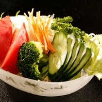 【別注料理】野菜サラダ600円