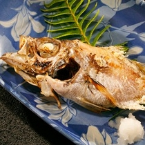 【別注料理】地魚の焼き物800円