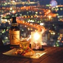 51階「エアシップ」 夜景をおつまみに一杯・・・