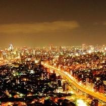 客室からの夜景(街側)