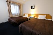 ツインルーム type2 (室内20.3m2 ベッド120cm バスルーム1.5x2.0m)