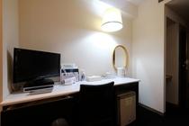 ツインルーム type3 (室内24.3m2 ベッド120cm バスルーム1.6x2.1m)