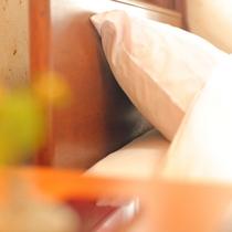 ベッド派の方には和洋室がおすすめ。ふんわりベッドでぐっすりとお休みください。