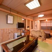 *特別室(一例)/和の心を残した趣のある一室。落ち着いた大人の空間でお過ごしください。
