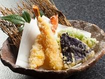カニの天ぷら!