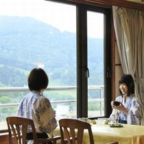 ◆レストランウィング/蔵王の景色を一望しながらお楽しみいただけます※イメージ
