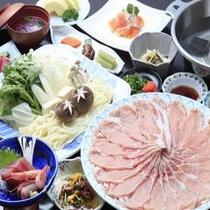 ◆ご夕食/三元豚しゃぶしゃぶ大鍋膳※イメージ