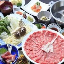 ◆ご夕食/和牛しゃぶしゃぶ鍋膳※イメージ