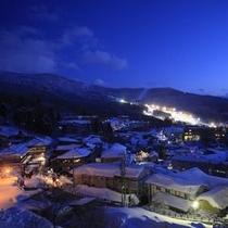 ◆客室からの夜景(冬)※イメージ
