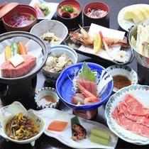 ◆ご夕食/和牛陶板ステーキ付和食膳※イメージ
