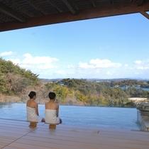 【露天風呂】日本三景・松島を眺めながら入浴♪