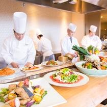 【ラ・セレース】オープンキッチン