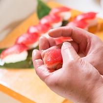【和風海鮮バイキング】握り寿司イメージ
