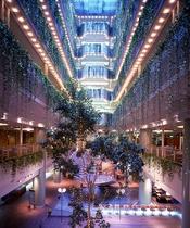 ホテル内装 アトリウム