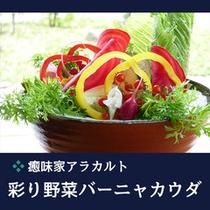 ●癒味家 アラカルト 彩り野菜バーニャカウダ