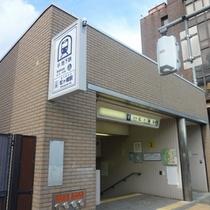 ▼松ヶ崎駅 2番出口(無料シャトル昇降口)