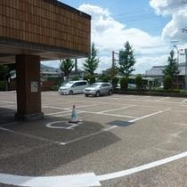 ▼駐車スペース50台 無料でご利用いただけます