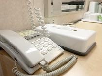 室内電話機