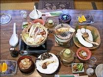 マツタケ料理