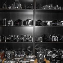 先代社長のカメラコレクション