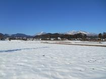 暑い日は「冬景色」