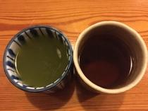 豚鼻(煎茶とほうじ茶)