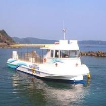 *半潜水型海中観光船ステラマリス
