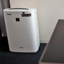 ■全室共通■加湿機能付き空気清浄機(プラズマクラスター搭載)