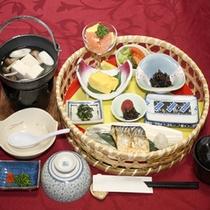 *【朝食一例】美味しい朝ごはんで、朝からしっかり栄養補給!