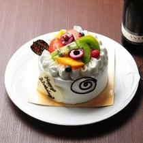 記念日用特注ケーキ