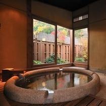 「さくら」の半露天風呂