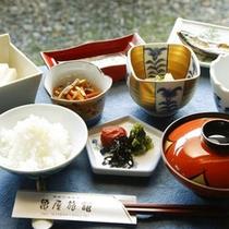 亀屋の朝食