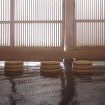 プラン用湯滝風呂(桶&湯気)