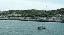明石海峡を望む漁師町 岩屋