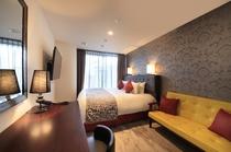 ◆キングベッドEXルーム14㎡■キングベッド(180cm幅×200cm) ソファーベッド