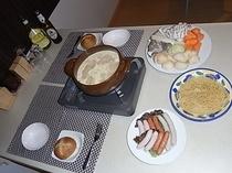 冬季限定・白鍋コース料理