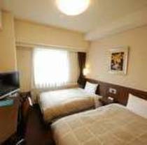 【スタンダード★ツイン】ベッド幅110cm×2の広いお部屋です