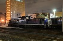 ホテルと列車