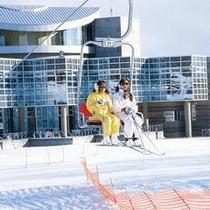 【スキー場リフト】