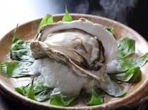 岩牡蠣宝楽焼き