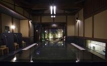 大浴場「離れ湯 雨情」