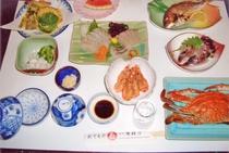 夕食例(季節により異なります)