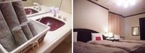 レジデンシャルルーム(washroom + bed room )