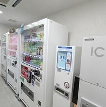 ◆自動販売機コーナー◆2階にございます♪