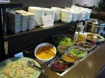 朝食バイキング 栄養満点★和え物、サラダ、デザート