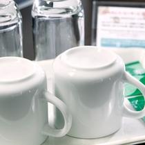 ◆【客室備品】コップ・グラス・お茶◆