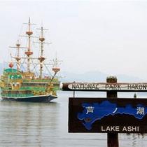 *【芦ノ湖】湖上クルーズで遊覧したり、美術館や植物園巡りをしたり・・周辺には、箱根の見所が満載です!