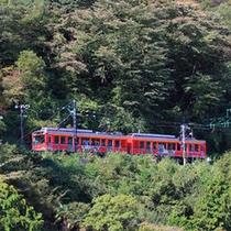 *【登山電車】箱根のシンボル的存在。