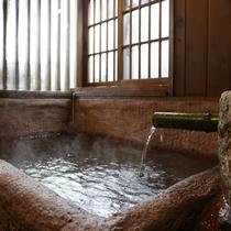 内湯付き離れ和室のお風呂